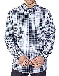 a51cc0c7cf0731 483061000 150 Herren Hemd mit Button-Down-Kragen Casual Fit Gemustert