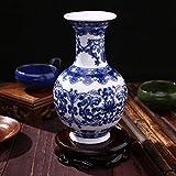 Rosepoem Schönes Haus und Büro Dekor Akzent chinesischen feinen Porzellan dekorative Vase