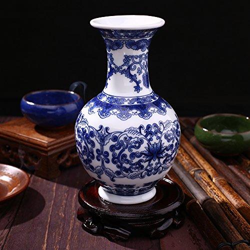 Rosepoem Schönes Haus und Büro Dekor Akzent chinesischen feinen Porzellan dekorative Vase China Vase