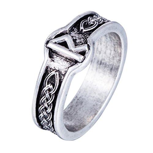 Skyrim Antiguo Plata gótico Viking Amuleto nórdico