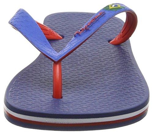 Ipanema - Brazil Bicolor Unisex, Sandali infradito Unisex – Adulto Multicolore (Mehrfarbig (blue red 8175))