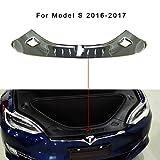 Topfit Trunk Chrome Trim Einsätze, Kratzschutz Trim für Modell S (2016-2018)