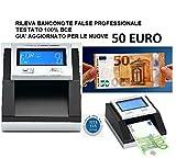 CONTA VERIFICA RILEVA BANCONOTE FALSE TESTATO 100% BCE GIA AGGIORNATO 10 e 20 EURO NUOVE - CASSADIRETTO.IT -