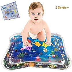 YGJT Alfombra de Juego con Agua Inflable para Bebé Estera 66x50cm Centro Actividad Bebés Tiempo de Tummy Juguete Bebe 6 Meses