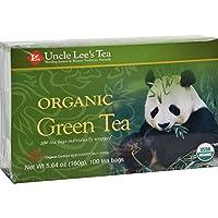 Uncle Lee s Legends of China Organic Green Tea - 100 Tea Bags - 100% Organic - Full of health promoting antioxidants
