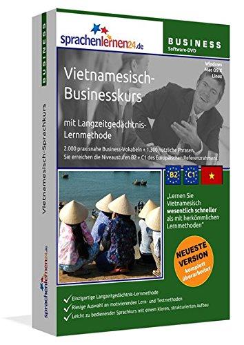 Vietnamesisch-Businesskurs, DVD-ROMVietnamesisch-Sprachkurs mit Langzeitgedächtnis-Lernmethode....