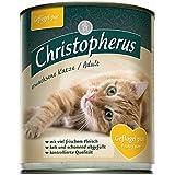 Christopherus Cat Dose für erw. Katzen Geflügel pur | 6x800g
