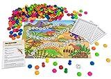 Betzold 754825 - Rechenspiel Dino Rechenland, Kopf-Rechnen Lernen Kinder Grundschule