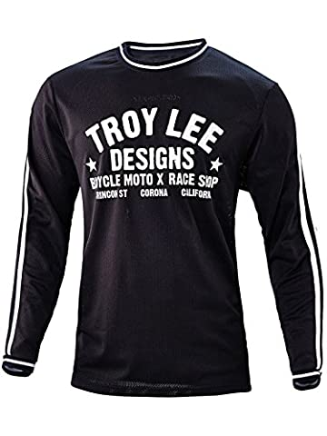 TROY LEE DESIGNS Super Maillot Homme Noir FR : XL (Taille Fabricant : XL)