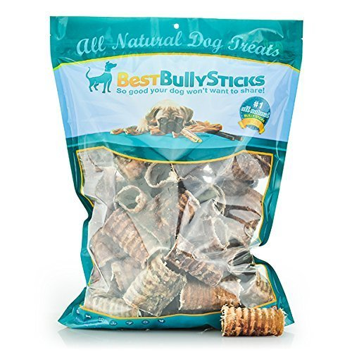 3 Inch Trachea Dog Chews - 50 Pack by Best Bully Sticks -