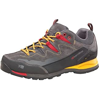 Worldwide Clothing Karrimor Mens KSB Tech Approach Hiking Shoes Charcoal/Yellow 1