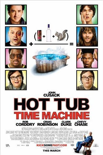 Hot Tub Time Machine - Mini Movie Poster - 11 x 17 by Moving Image Posters Hot Tub Time Machine-poster