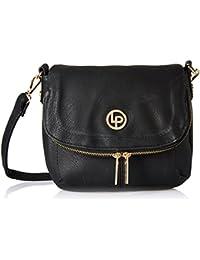 Lino Perros Women's Sling Bag (Black) - B076H8K59N