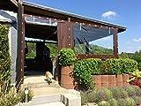 eKudera.com TERASSENPLANE Plane PVC ABDECKPLANE Plane Holz Garten 650g/m² 1m² Vergleich