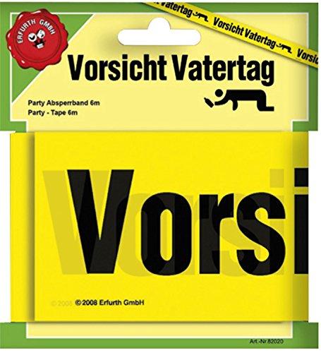 t Vatertag Absperrband Länge: ca. 6 m Scherzartikel (Absperrband Schal)