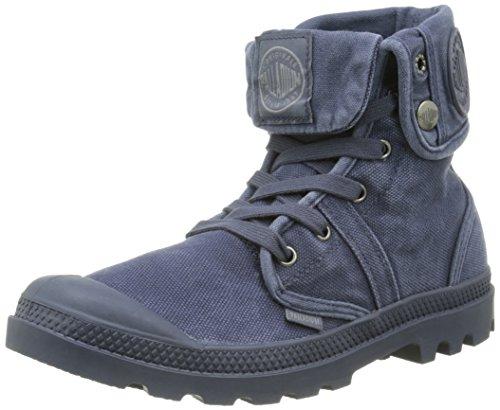 Palladium US Baggy W H, Sneakers Hautes Hommes, Bleu (B62 Parisian Night/Eiffel Tow), 41 EU