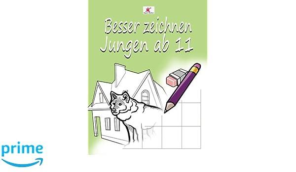 Einfach zeichnen lernen für Kinder: Starke Motive für Jungen ab 11 ...