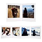CAIUL V Modell Clear Acryl Fotorahmen für Fujifilm Instax Square SQ10 Instant Film, 3 Stück