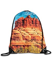 Famous Bell Rock and Courthouse Butte In Sedona Arizona USA Nature Desert Unisex Home Travel Outdoor