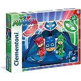 Clementoni 26972 - Puzzle 60 Pj Masks