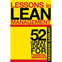 Lessons in Lean Management