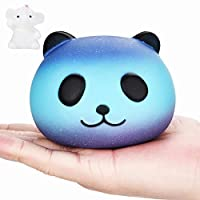 VENMO Squishy Galaxia Lindo Panda Aliviador de Estrés Squishy Slow Rising Squeeze Toy para niños adultos,10cm de VENMO