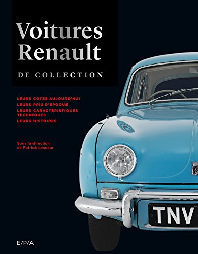 Voitures Renault de collection par Collectif