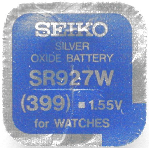 Seiko Batteries All Sizes Button Cell Watch Batteries (SR927W (399)) by Seiko