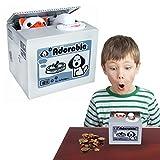 Toy Cubby Electronic Dog Stealing Coins Savings Box Kids Money Savings Box