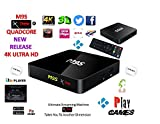 "Android Tv Box Fully Xtreme 2018 tv box KODI 17.3 ultimate machine takes you to another dimension 4X CPU Marshmellow 6.0 AMLOGIC s905 cortex A53 64BIT 2Ghz Wifi 4K UHD H.265 Lan smart tv box quad core 8GB 2GB ULTRA HD Ethernet port, wifi play games movies without freezing and buffering high speed DONT JUST WATCH IT ""JUMP IN"""