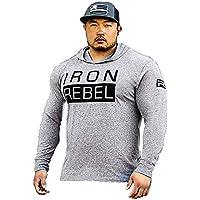 Iron Rebel–Rogue Triblend Hoodie (Grey) Unisex