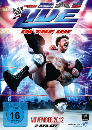 WWE - Live in the UK November 2012 [2 DVDs] - Dvd-2012 Wwe