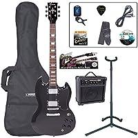 Encore E69BLK Pack de Guitare électrique Noir