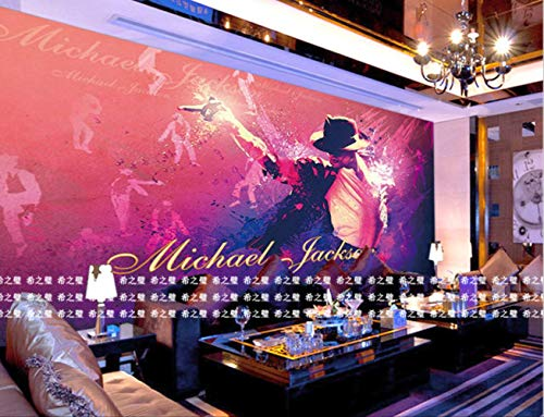 3d Murals Photo Wall Mural Painting Michael Jackson Backdrop I Bedroom Background Home Decor Höhe 250cm * Breite 175cm Eine (Decor Home Jackson Michael)