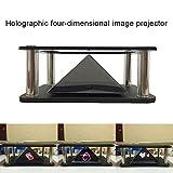 Soulitem 3D holographische Projektor Pyramide vierdimensionale Bildanzeige für Handy