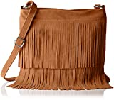 Bags4Less Damen Tipsi Umhängetasche, (Cognac Braun), 10x30x30 cm