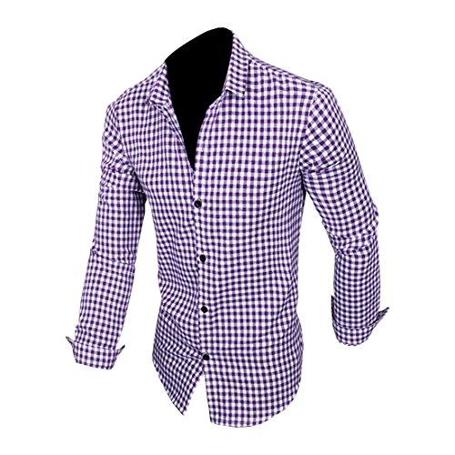 Partiss - Chemise habillée - Homme Violet
