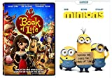 Minions & Book of Life DVD Animated Set