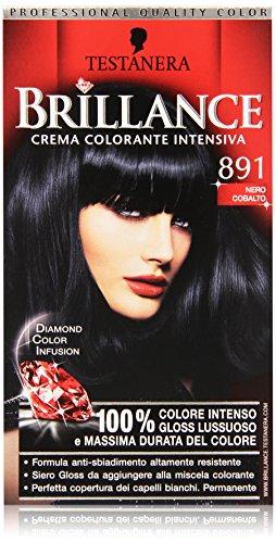 Testanera - Brillance, Crema Colorante Intensiva, 891 Nero Cobalto