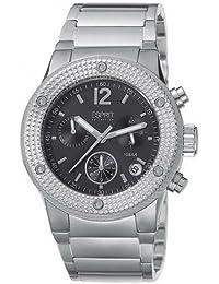 Esprit Collection Damen-Armbanduhr Anteress Black Chronograph Quarz Edelstahl EL101282F06