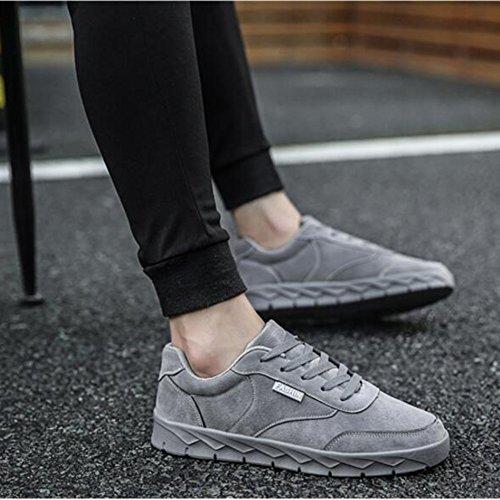 Xueqin Otoño Nueva Tendencia Zapatos Hombres Zapatos Deportivos Zapatos Casuales Zapatos De Patines (color: 3, Tamaño: Eu39 / Uk6.5 / Cn40) 1