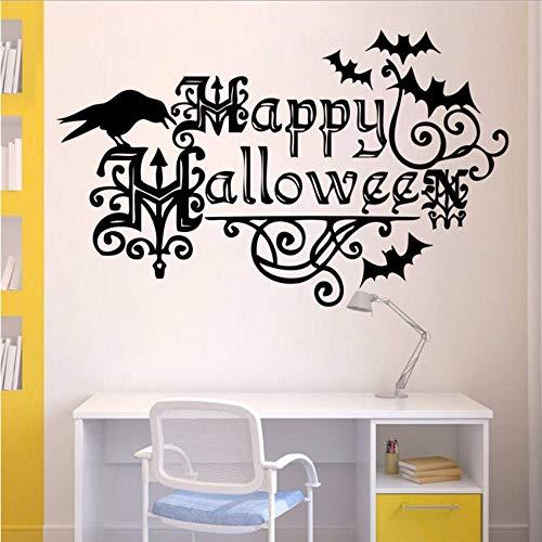 Zimmer Wandaufkleber Wanddekor Aufkleber Abnehmbare Neue Halloween Dekoration Wandaufkleber 57 * 35 Cm ()