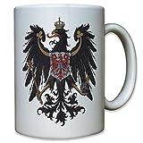 Provinzen Brandenburg Adler Preußen Staat Wappen Abzeichen Emblem Deutschland -Tasse Kaffee Becher #9521