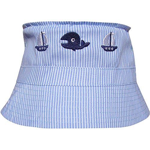 Jungen, Farbe: blau, im Fischerhut-Design Gr. Einheitsgröße, blau (Baby Sailor Hut)