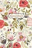 Kassenbuch: Einnahmen - Ausgaben Buchführung für Kleingewerbe und Selbstständige   ca. A5   Blumen Vintage Cover