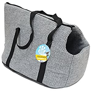 Me & My Grey Soft Pet Carrier