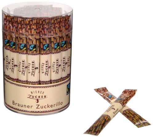 Wiener Zucker Brauner Zuckerillo FAIRTRADE Sticks