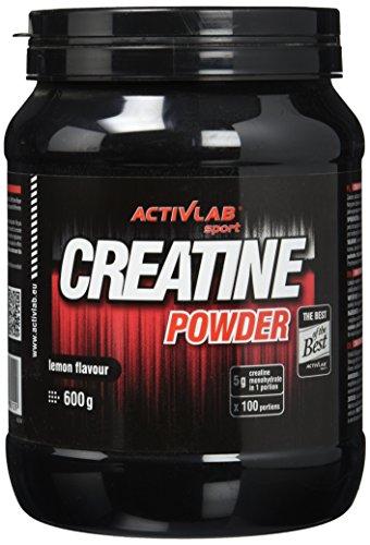 Activlab Creatine Powder, Zitrone, 1er Pack (1 x 600 g)