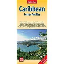 Nelles Map Caribbean: Lesser Antilles 1:150 000 ; 500 000; 2 500 000: strapazierfähig, wasser- und reißfest