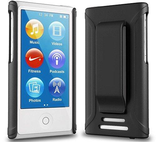 Onyx Schutzhülle für Apple iPod Nano 7 (7. Generation), Schwarz